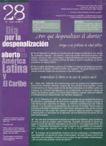 15 AÑOS POR LA DIGNIDAD Y LA VIDA DE LAS MUJERES - PORTADA