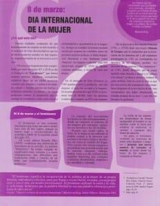 8 DE MARZO - DÍA INTERNACIONAL DE LA MUJER - PORTADA