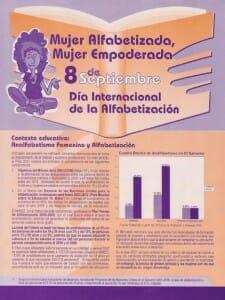 8 DE SEPTIEMBRE - DÍA INTERNACIONAL DE LA ALFABETIZACIÓN - PORTADA