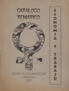 CATÁLOGO TEMÁTICO ECONOMÍA Y TRABAJO - 1997_PORTADA