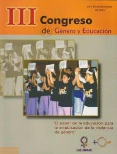 III CONGRESO DE GÉNERO Y EDUCACIÓN - 2005_PORTADA