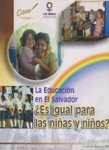 LA EDUCACIÓN EN EL SALVADOR ES IGUAL PARA LAS NIÑAS Y LOS NIÑOS - 2006_PORTADA