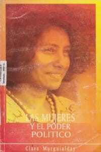 LAS MUJERES Y EL PODER POLÍTICO - 1998_PORTADA
