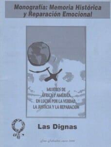 MONOGRAFÍA MEMORIA HISTÓRICA Y REPARACIÓN EMOCIONAL - 2000_PORTADA