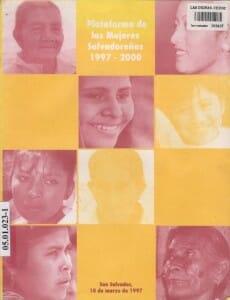 PLATAFORMA DE MUJERES SALVADORENAS 1997-2000_PORTADA