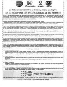 IMA_RED FEM en el marco del dia internacional de la mujer 19 03 14