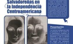 portada_Salvadoreñas en la independencia Centroamericana