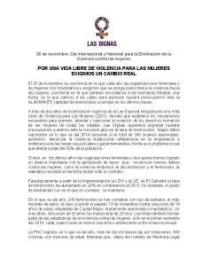 IMA_COMUNICADO 25 DE NOVIEMBRE 2014
