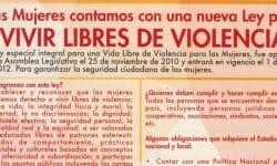 portada_LAS MUJERES CONTAMOS CON UNA NUEVA LEY PARA VIVIR LIBRES DE VIOLENCIA_