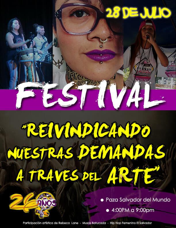 AFICHE FNAL FESTIVAL ANIVERSARIO 26 SAN SALV 2016