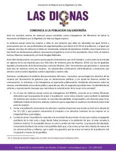 IMA_LAS DIGNAS COMUNICADO CASO PROMOTORAS DE SALUD MAYO 2017_Página_1